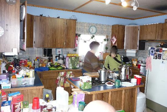 Adventure Alaska Tours: Kitchen was entertaining...