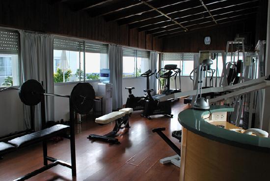 Hotel Iruna Mar del Plata: Gimnasio en último piso