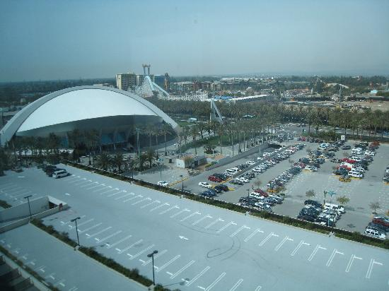 Hilton Anaheim: View from 14th floor room
