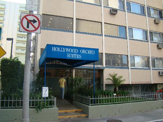 Hollywood Orchid Suites: front