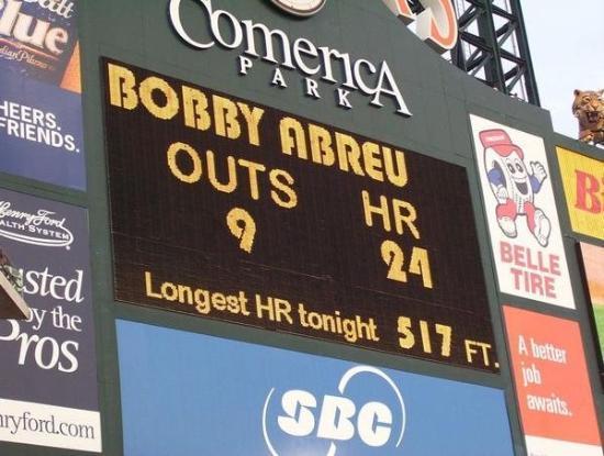 Comerica Park: Home Run Derby! All Star weekend.  Detroit, MI, United States
