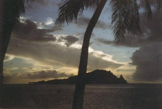 Scott's Head, Dominica at sundown...