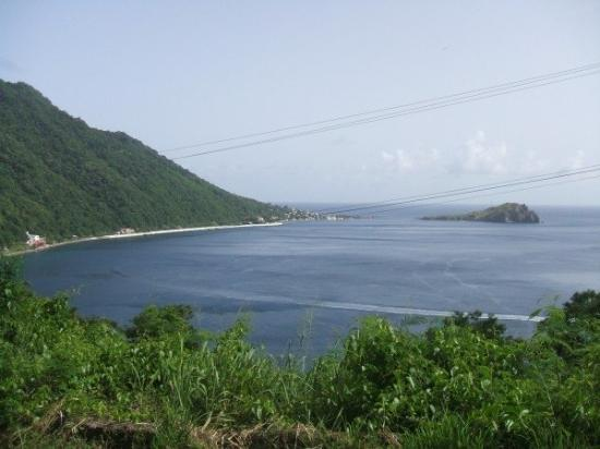 One of my all time FAVORITE Scott's Head, Dominica panaromic views...