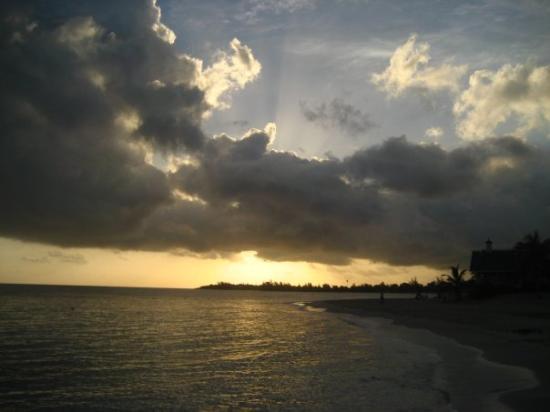 Runaway Bay, Jamaica: sunrise at 5am