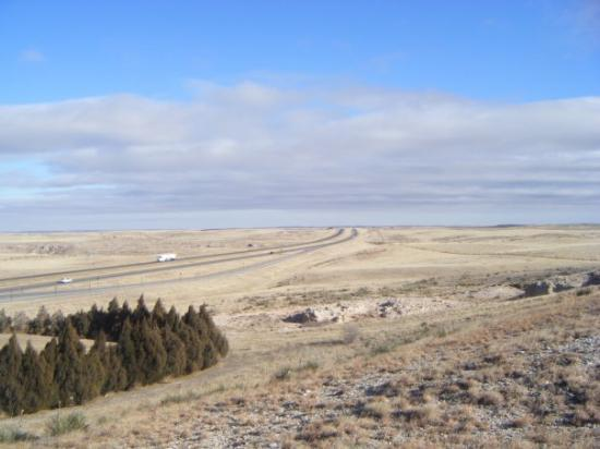 Cheyenne, WY: Wyoming just before the Nebraska State Line