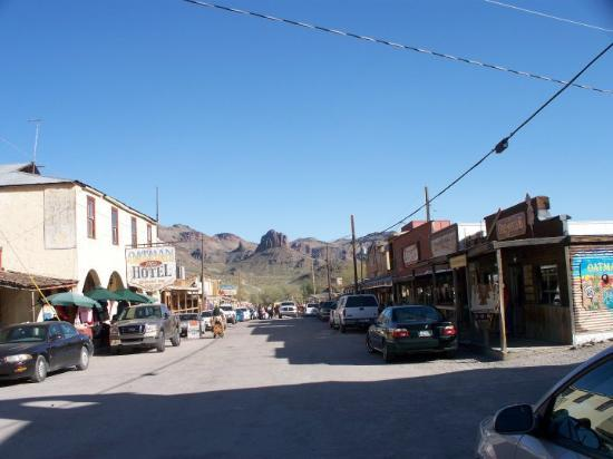 Oatman, AZ: A fun little town, a rewind in time