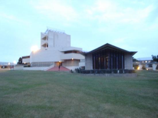 Lakeland, FL: Annie Pfeiffer Chapel (larger, background) and Danforth (smaller) Chapels