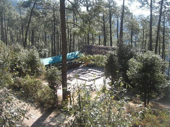 Camp Potters Hill: party area
