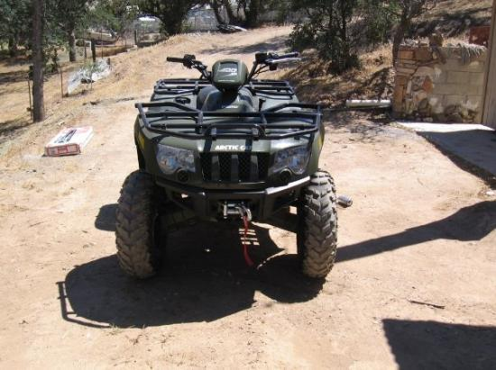 Bodfish, CA: Arctic Cat 400 - joy in the mountains