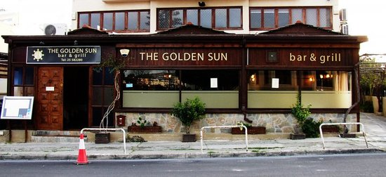 The Golden Sun: Great food superb atmosphere