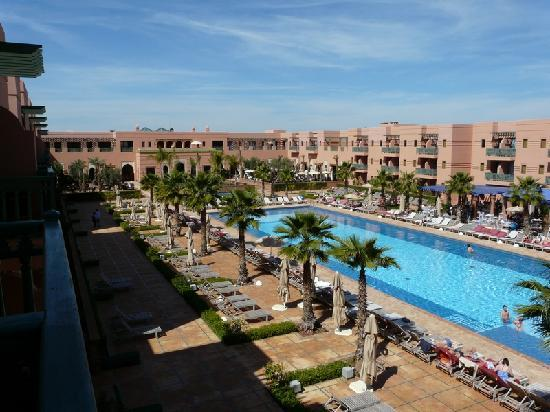 la piscine picture of hotel les jardins de l 39 agdal marrakech tripadvisor. Black Bedroom Furniture Sets. Home Design Ideas