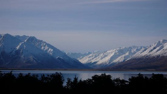 Lake Ohau Lodge: View from the deck, room, bar, car!