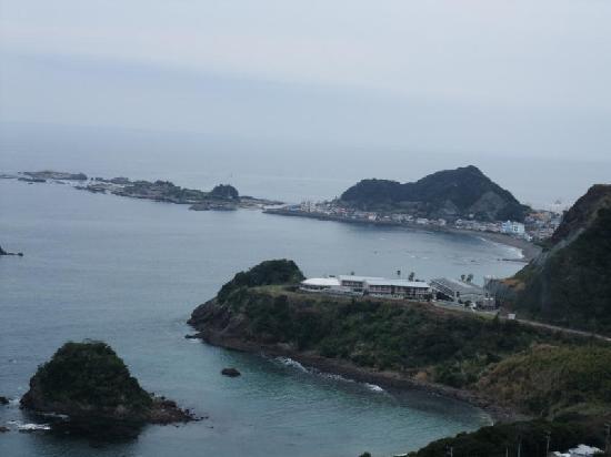 Meisho Niemonjima: 写真左上部が「仁右衛門島」