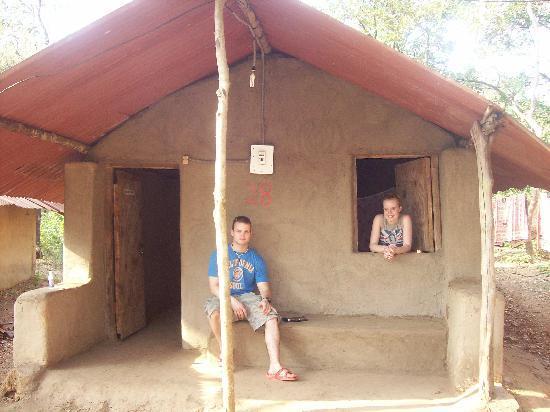 Candolim, India: Elephant camp Hut