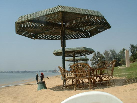 Ismailia, Egypt: the beach