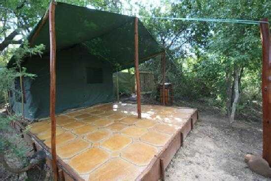 Calao Tented Camp: safari tent