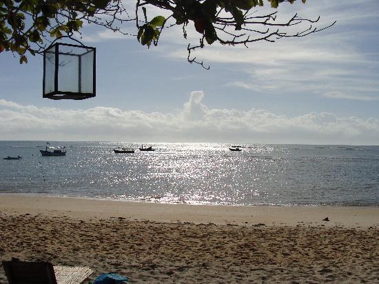 Pousada do Baiano: La playa