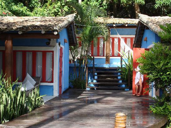 Pousada do Baiano : exterior habitaciones