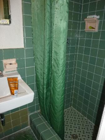 El Patio Motel: Das Minibad   Dusche