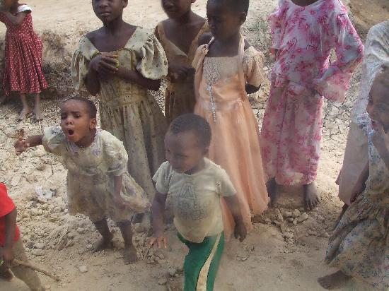 Dongwe Club: Bambini del Villaggio visitato