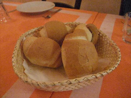Hotel Roma Claviere : These rolls get crustier as the week goes on
