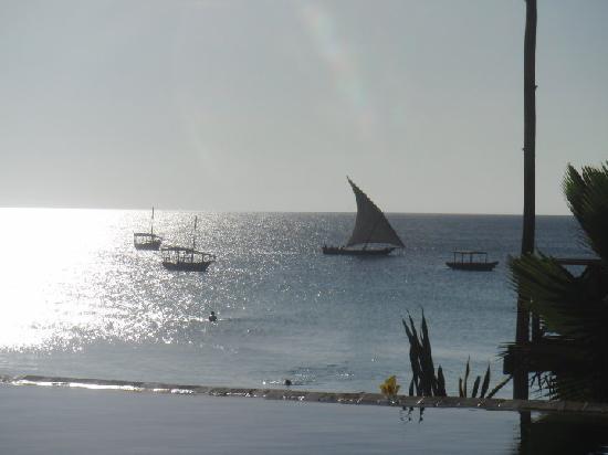 The Z Hotel Zanzibar: View from pool area