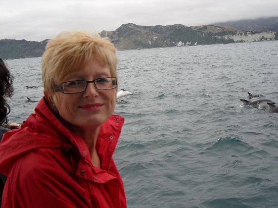 Kaikoura, Nueva Zelanda: dusky dolpins