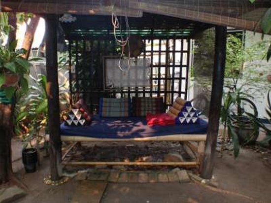 The Chiang Mai White House: Le coin le plus sympa de la terrasse