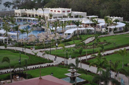 Hotel Riu Guanacaste: view from our room