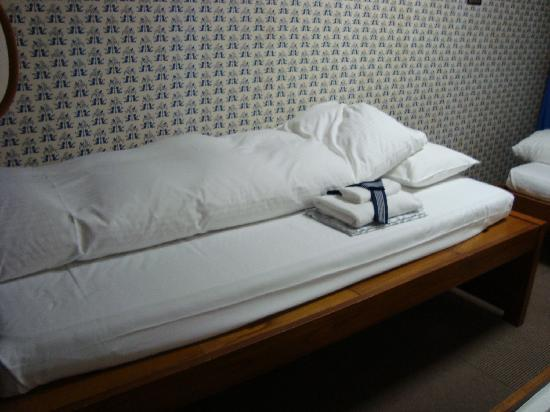 Econo-Inn Kyoto: Una de las camas