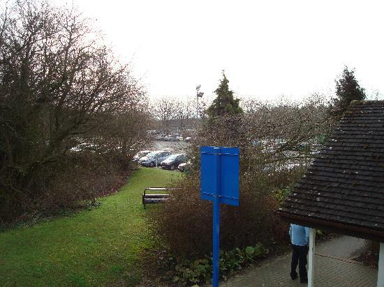 Travelodge Chippenham Leigh Delamere Eastbound: Leigh Delamere M4 E View from window