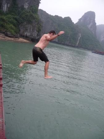 Halong Bay, Vietnam: swimming was optional