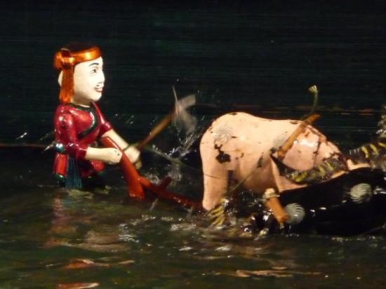 Bilde fra Thang Long Water Puppet Theater
