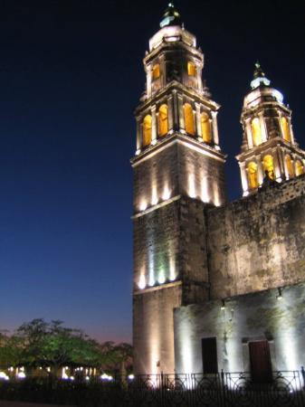Campeche, Catedral de Nuestra Senora de la Purisma Concepión