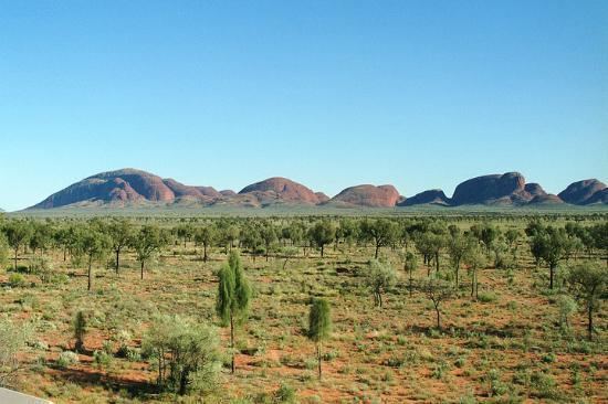 Ayers Rock and the Olgas: The Olga's