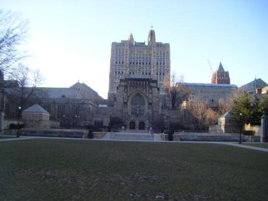 Yale University, New Haven Connecticut