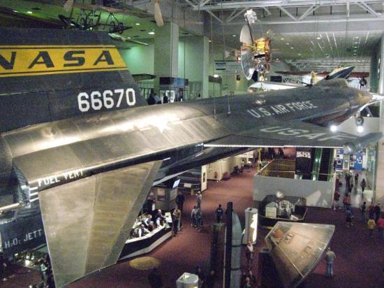 Bilde fra Det nasjonale luft- og rommuseet