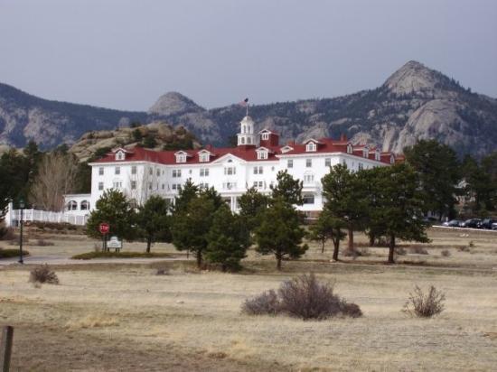Stanley Hotel Outside Estes Park Co Picture Of Estes