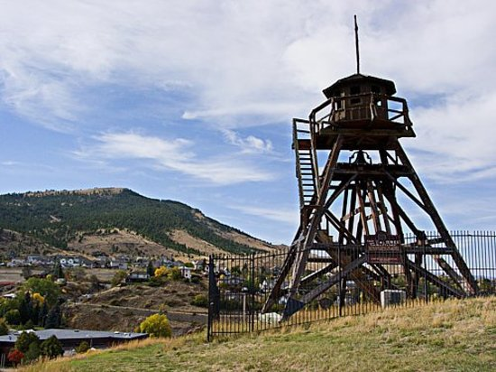 Helena, MT: the fire tower back home