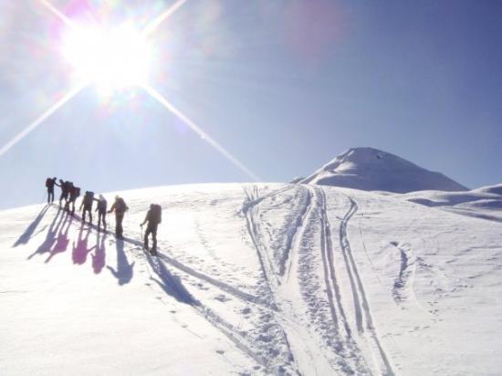 Maria Luggau, Österreich: Skitour
