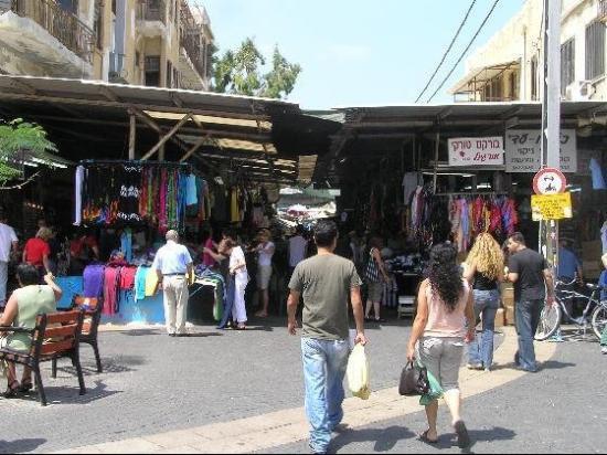 Carmel Market - Tel Aviv's largest food and vegetable market...