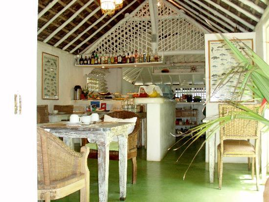 Pousada Capim Santo: Restaurant: Simple and Refreshing