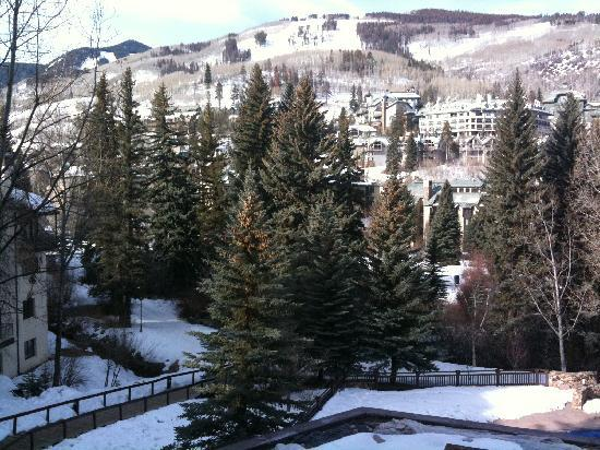 The Charter at Beaver Creek: View from our balcony