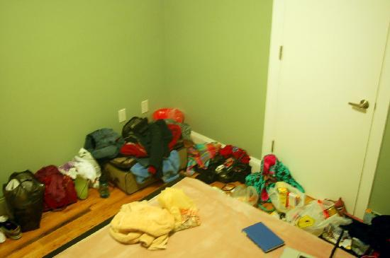 New York Hostel 99 : the size of the room essentially