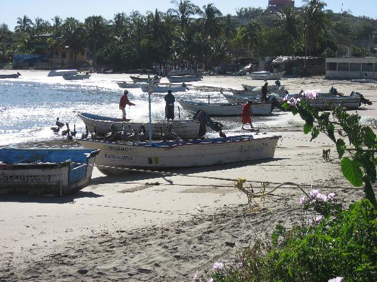 La Rosa de Las Barras: Fishing boats