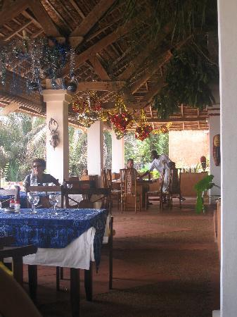 Assinie, Ivory Coast: The Restaurant