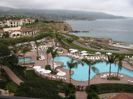 Terranea Resort View Of The Pool Area