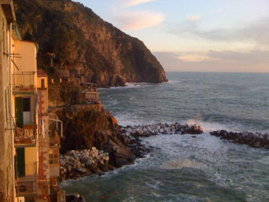 View of La Scogliera and the ocean