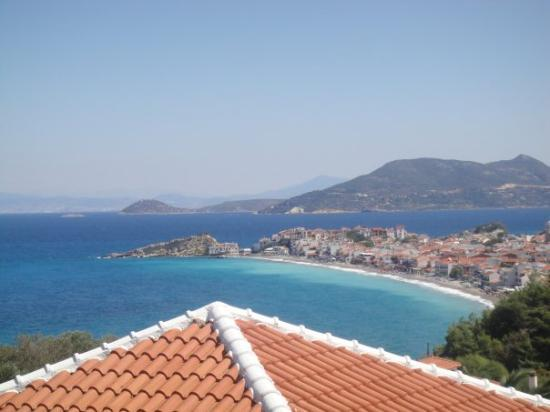 Arion Hotel : view from the balcony ;) Samos island