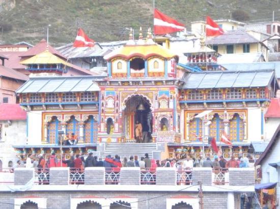 Main Vishnu temple, Badrinath, India